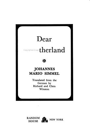 Dear Fatherland PDF