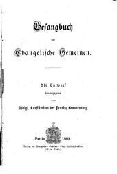 Gesangbuch für evangelische Gemeinen