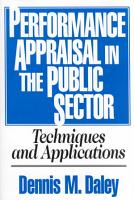 Performance Appraisal in the Public Sector PDF