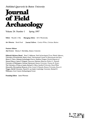 Journal of Field Archaeology PDF
