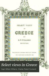 Select Views in Greece: Volume 1