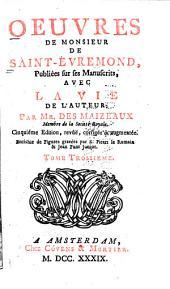 Oeuvres de Monsieur de Saint-Evremond,