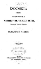 Enciclopedia moderna: Diccionario universal de literatura, ciencias, artes, agricultura, industria y comercio, Volumen 4