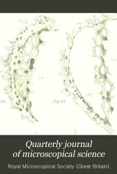 Quarterly Journal of Microscopical Science: Volume 33