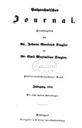 Dinglers polytechnisches journal: Band 115
