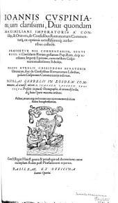 De consulibus Romanorum commentarii: ex optimis vetustissimisque authoribus collecti ...