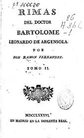 Rimas del Doctor Bartolome Leonardo de Argensola
