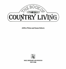 The Book of Country Living PDF