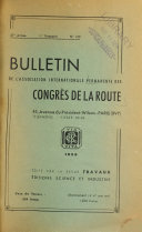 Download Bulletin de l Association Internationale Permanente des Congr  s de la Route Book