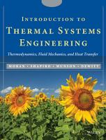 Introduction to Thermal Systems Engineering PDF