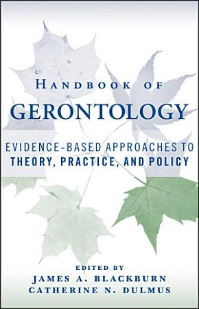 Handbook of Gerontology PDF
