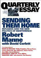 Quarterly Essay 13 Sending Them Home PDF