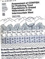 Assessment of COWFISH for Predicting Trout Populations in Grazed Watersheds of the Intermountain West