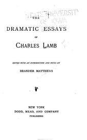 The Dramatic Essays