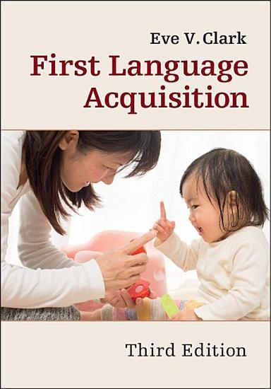 First Language Acquisition PDF