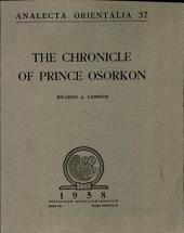 The Chronicle of Prince Osorkon
