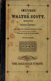 Oeuvres de Walter Scott: Kenilworth, Volume11