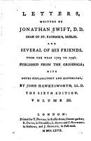 Letters  Written by Jonathan Swift  D D  Dean of St  Patrick s  Dublin  And Several of His Friends PDF
