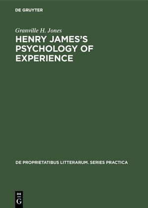 Henry James   s Psychology of Experience PDF