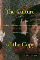 The Culture of the Copy PDF