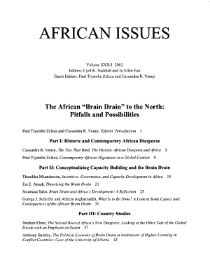 African Issues PDF
