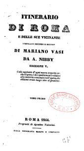 Itinerario di Roma e delle sue Vicinanze
