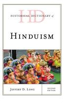 Historical Dictionary of Hinduism PDF
