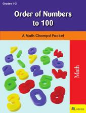 Order of Numbers to 100: A Math Champs! Packet