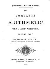 The Complete Arithmetic, Oral and Written: Part 2