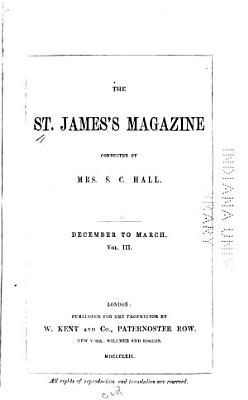 The St  James s Magazine PDF