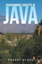 Programming Concepts In Java