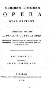 Clavdii Galeni Opera omnia: Τόμος 19