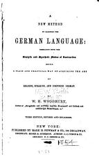 A New Method of Learning the German Language PDF