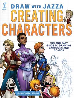 Draw with Jazza   Creating Characters Book