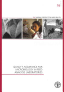Quality Assurance for Microbiology in Feed Analysis Laboratories PDF