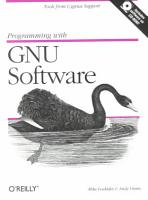 Programming with GNU Software PDF
