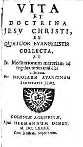 Vita et doctrina Jesu Christi