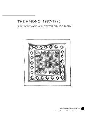 The Hmong  1987 1995 PDF