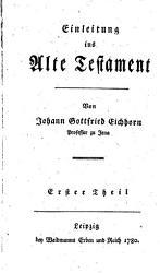Einleitung ins Alte Testament PDF
