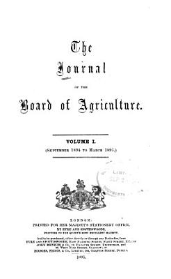 The Journal of the Ministry of Agriculture PDF