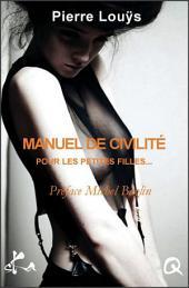 Manuel de civilité pour les petites filles: Nouvelle érotique