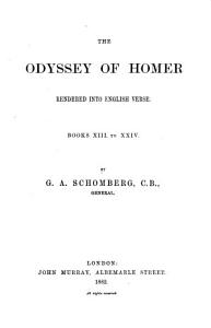 The Odyssey Rendered Into English Verse PDF