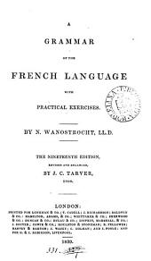 A grammar of the French language