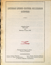 Miscellaneous Printed Items Concerning the History and Activities of the Commission PDF