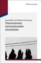 Dimensionen internationaler Geschichte