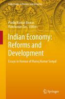 Indian Economy  Reforms and Development PDF