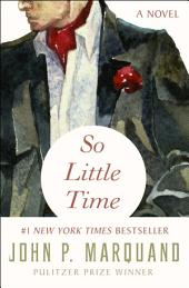 So Little Time: A Novel
