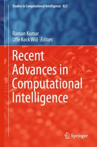 Recent Advances in Computational Intelligence PDF