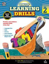 Daily Learning Drills, Grade 2