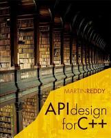 API Design for C   PDF